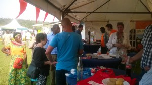 Kigali Agricultural Show of 2015 at the Dutch Pavilion